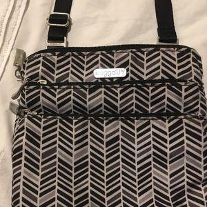Baggallini Crossbody Nylon Pocket Zipped Handbag